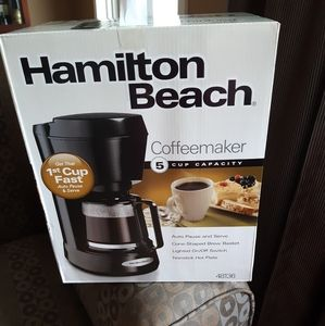 NWT Hamilton Beach Coffee Maker